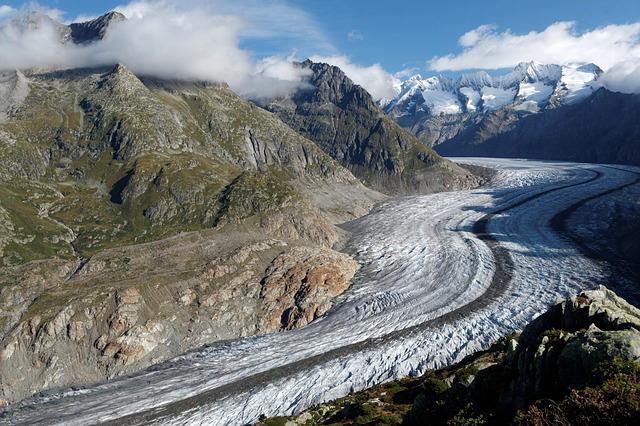 Aletsch Glacier near Eggishorn