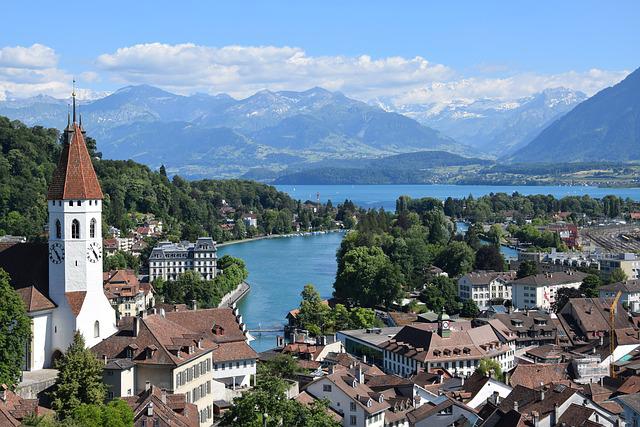 Thun Village, Switzerland