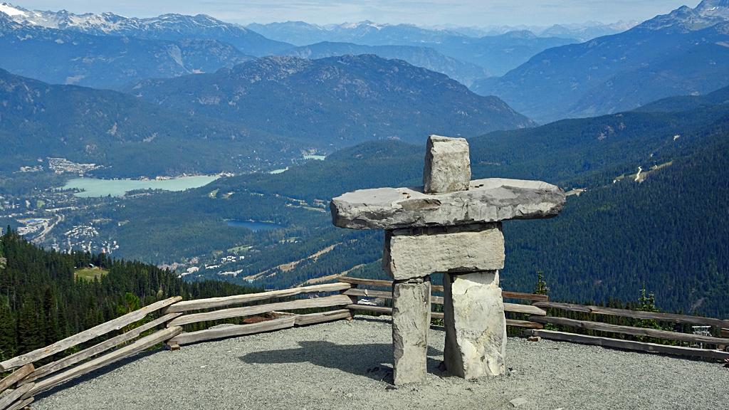 Inukshuk, Whistler Mountain