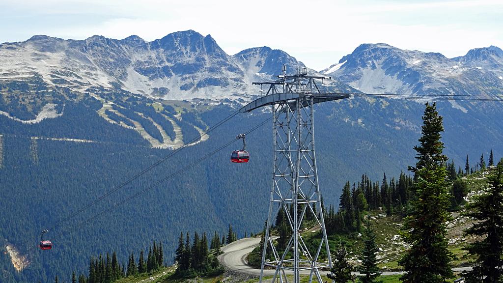 Peak to Peak Gondola Tower, Whistler