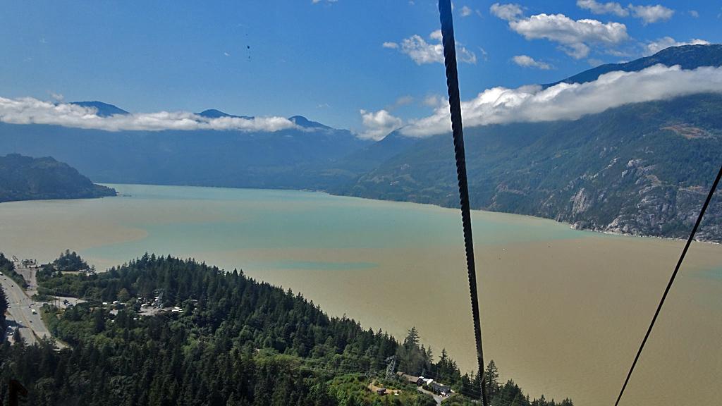 Sea to Sky Gondola, Howe Sound