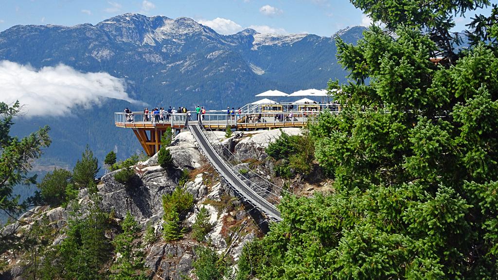 Sea to Sky Gondola Summit Lodge, Sky Pilot Suspension Bridge